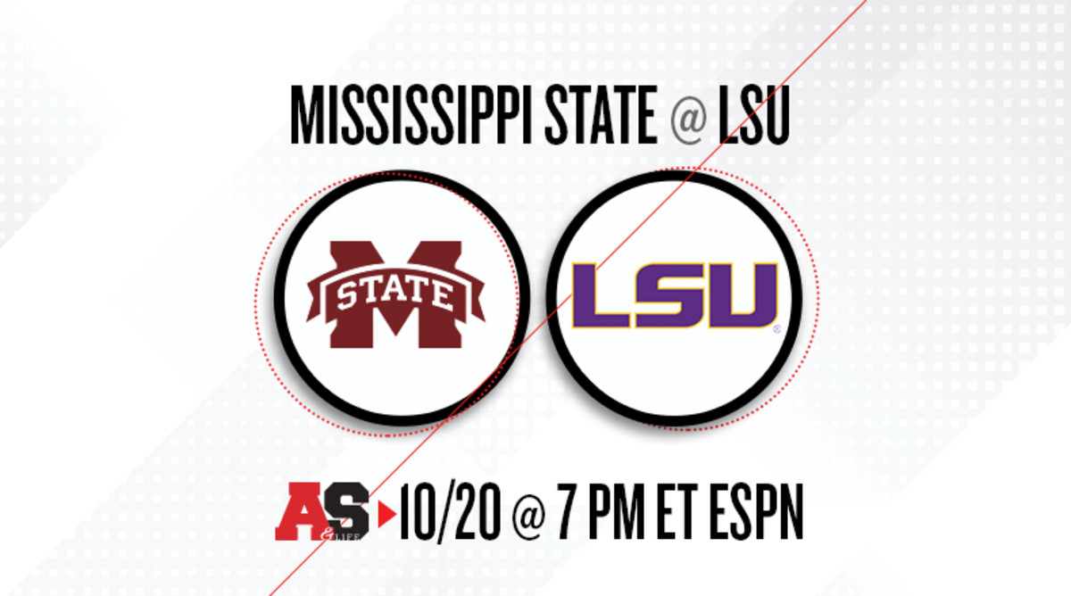 Mississippi State Bulldogs vs. LSU Tigers Prediction and Preview