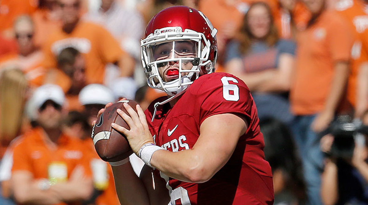 College Football Top 25: Baker Mayfield, Oklahoma Sooners Football
