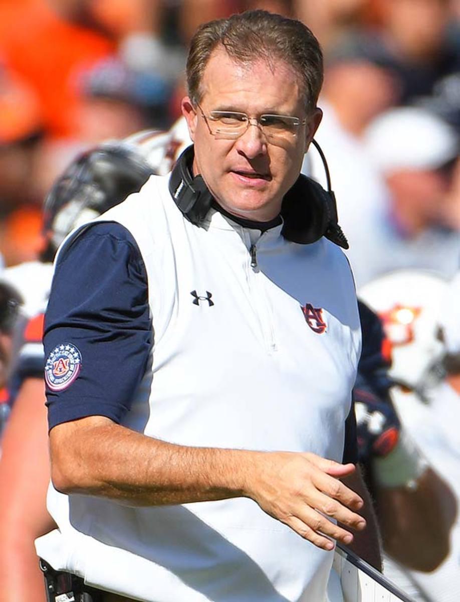 Auburn Tigers head coach Gus Malzahn