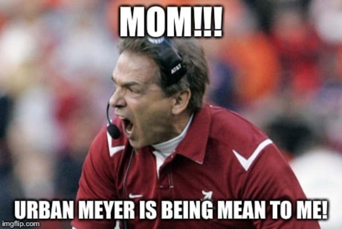 Funny, mean Alabama Football Meme