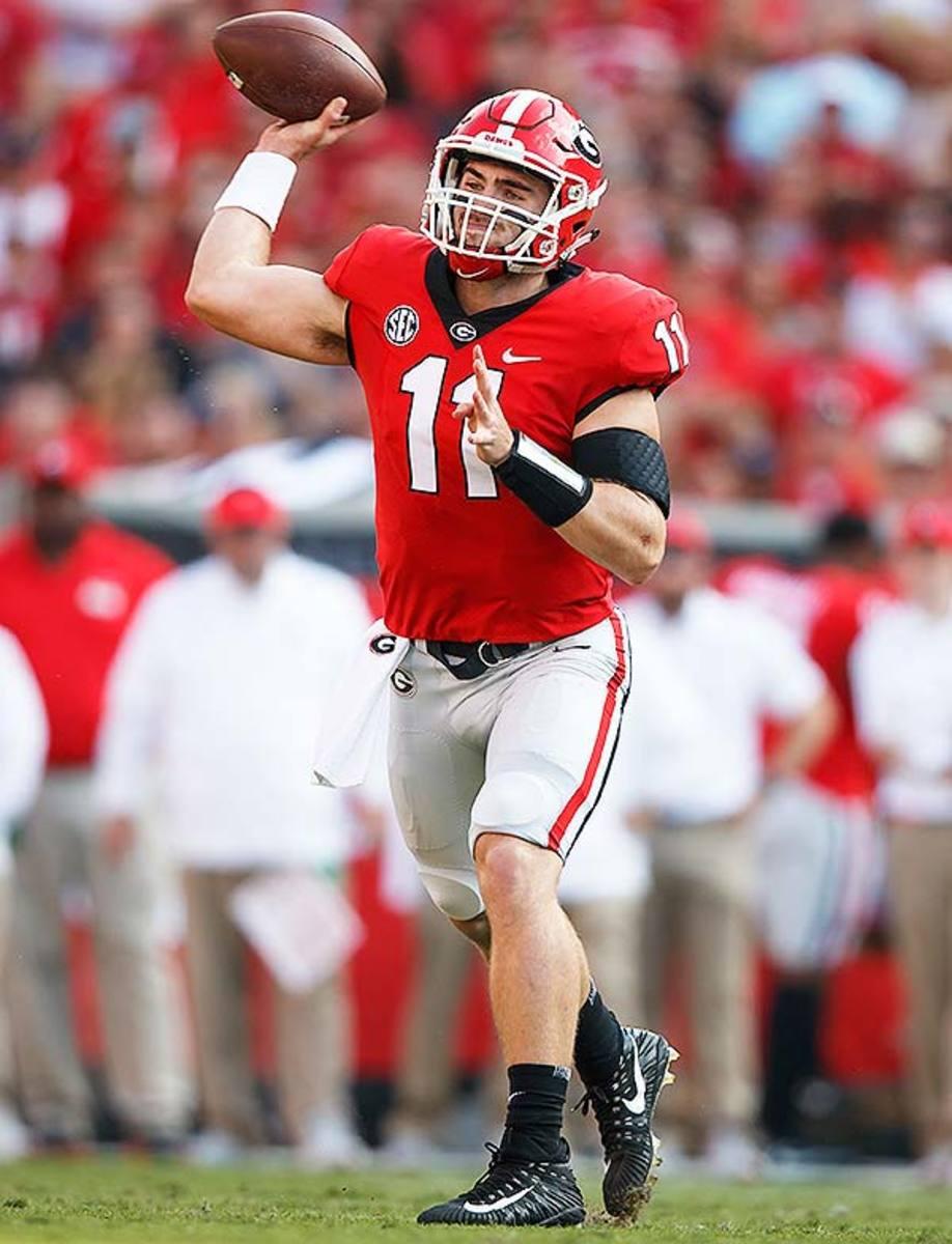 Georgia Bulldogs QB Jake Fromm