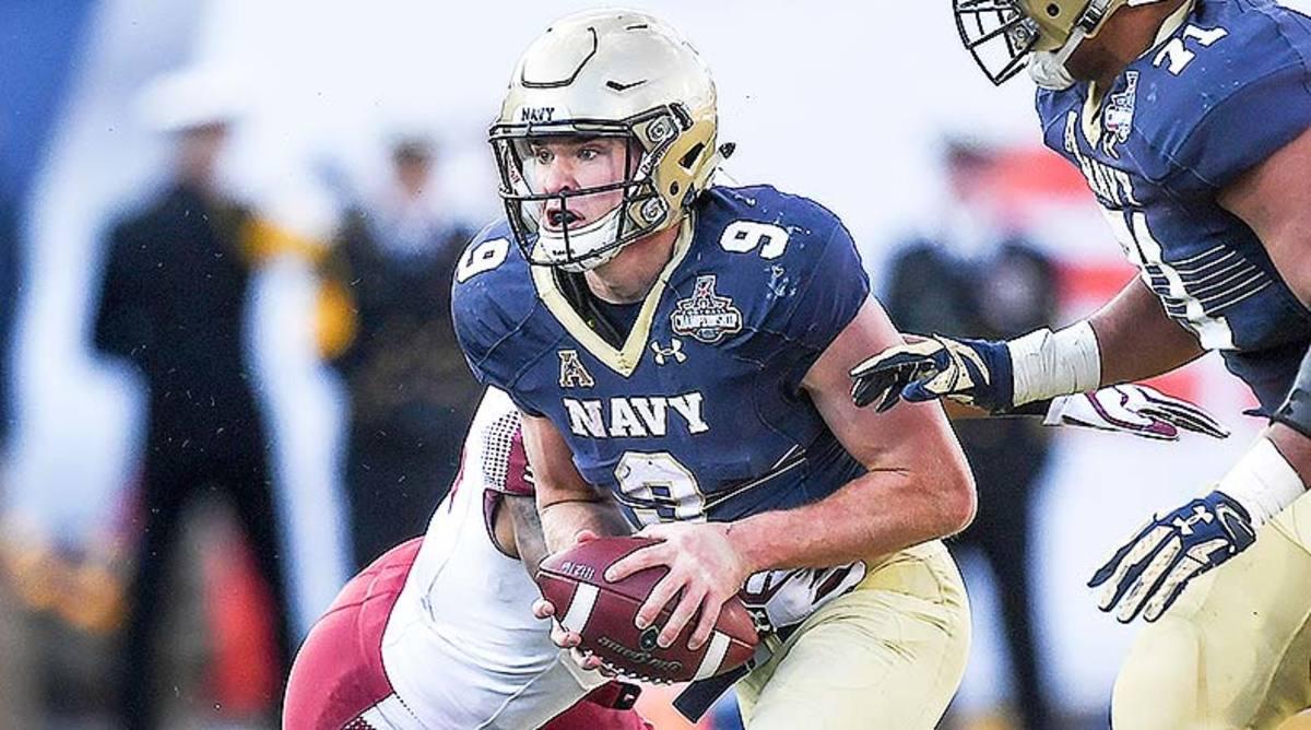 Zach Abey, Navy Football