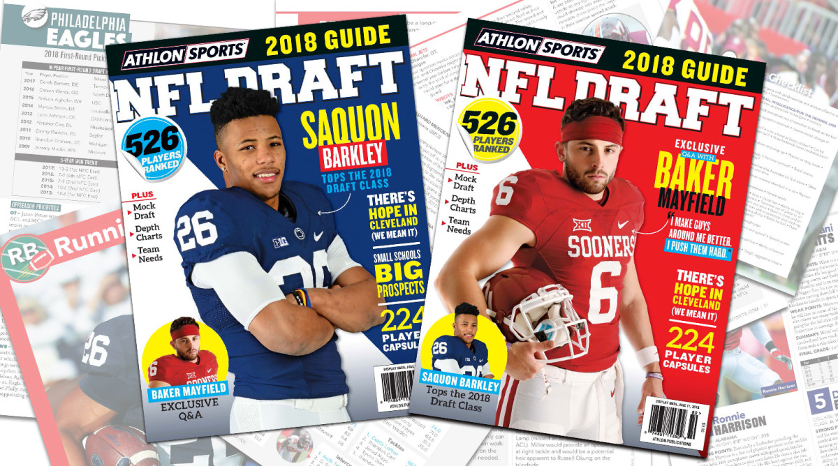 Athlon Sports' 2018 NFL Draft Guide Magazine