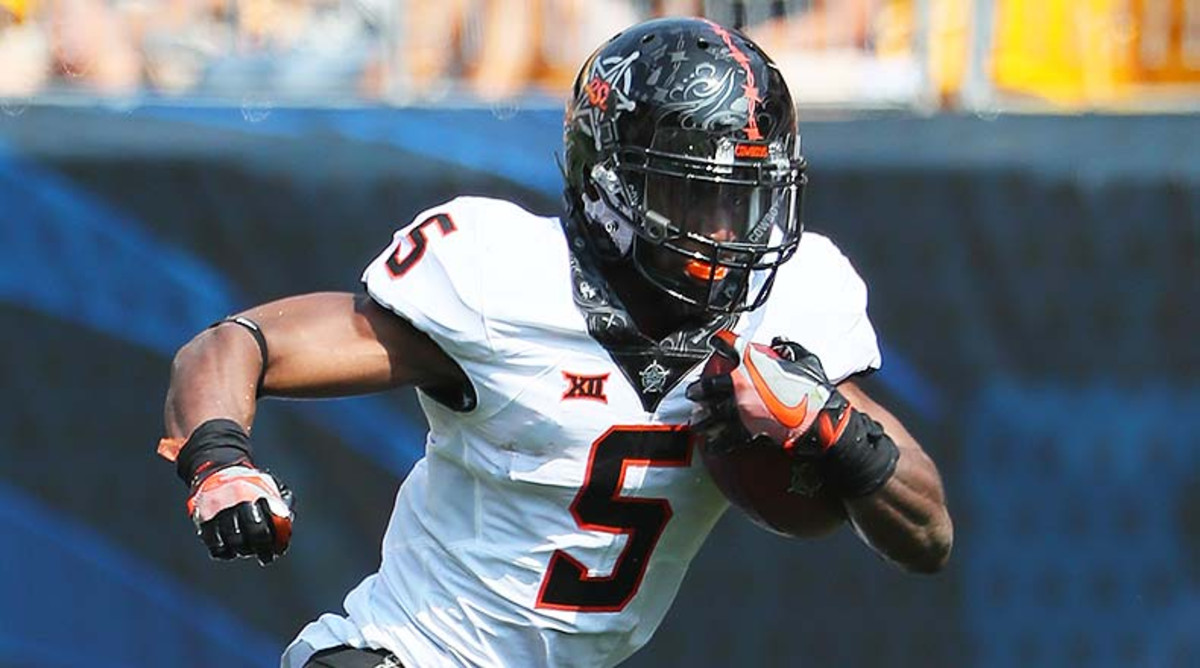 Justice Hill, Oklahoma State Cowboys Football