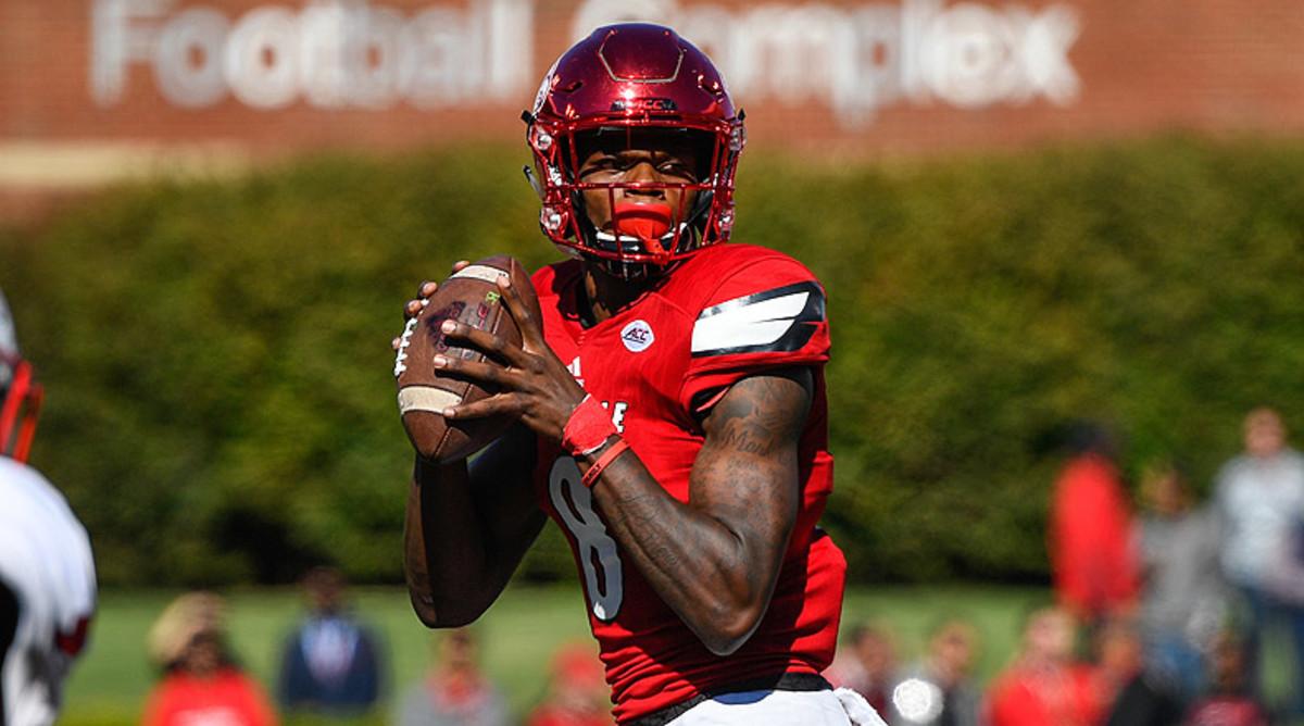 Lamar Jackson, Louisville Football