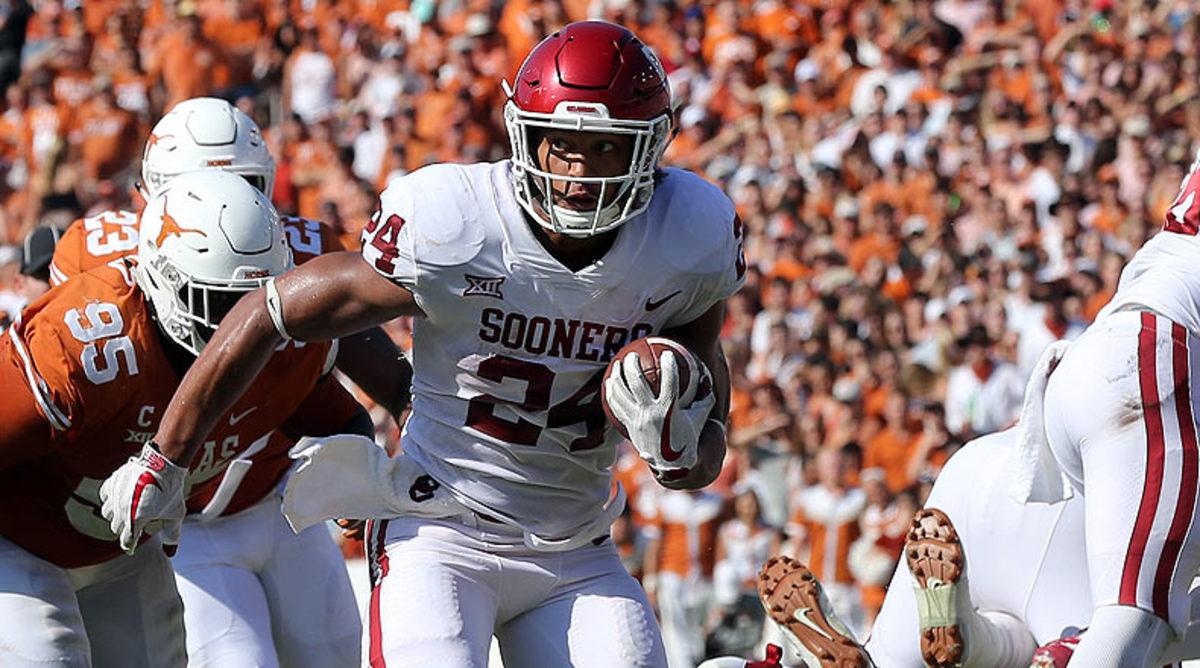 Rodney Anderson, Oklahoma Sooners Football