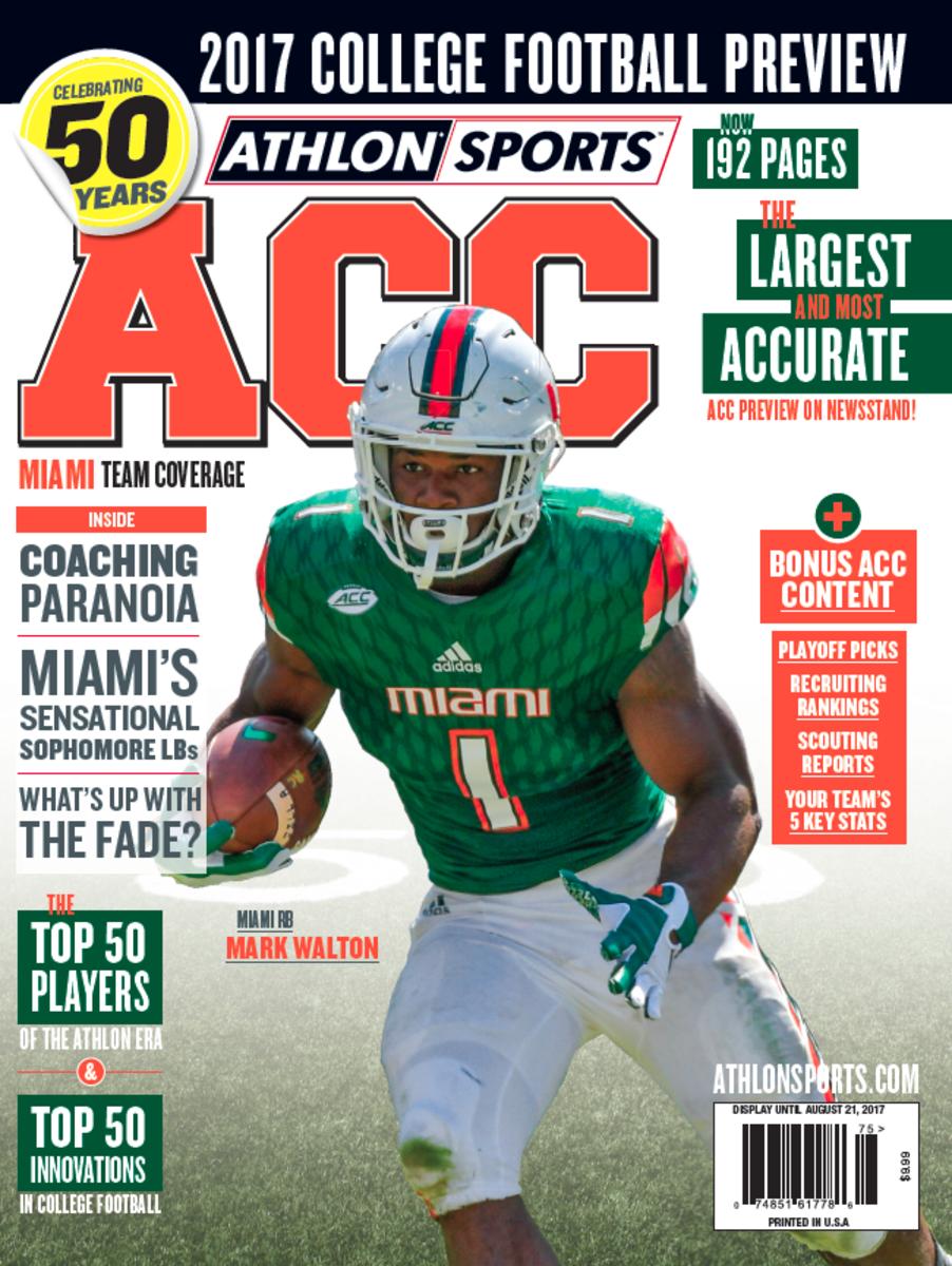 Miami Football/ACC Magazine