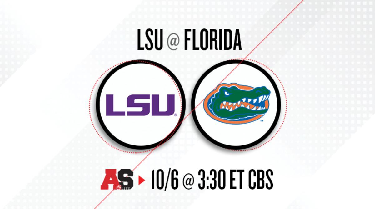 LSU Tigers vs. Florida Gators Prediction and Preview