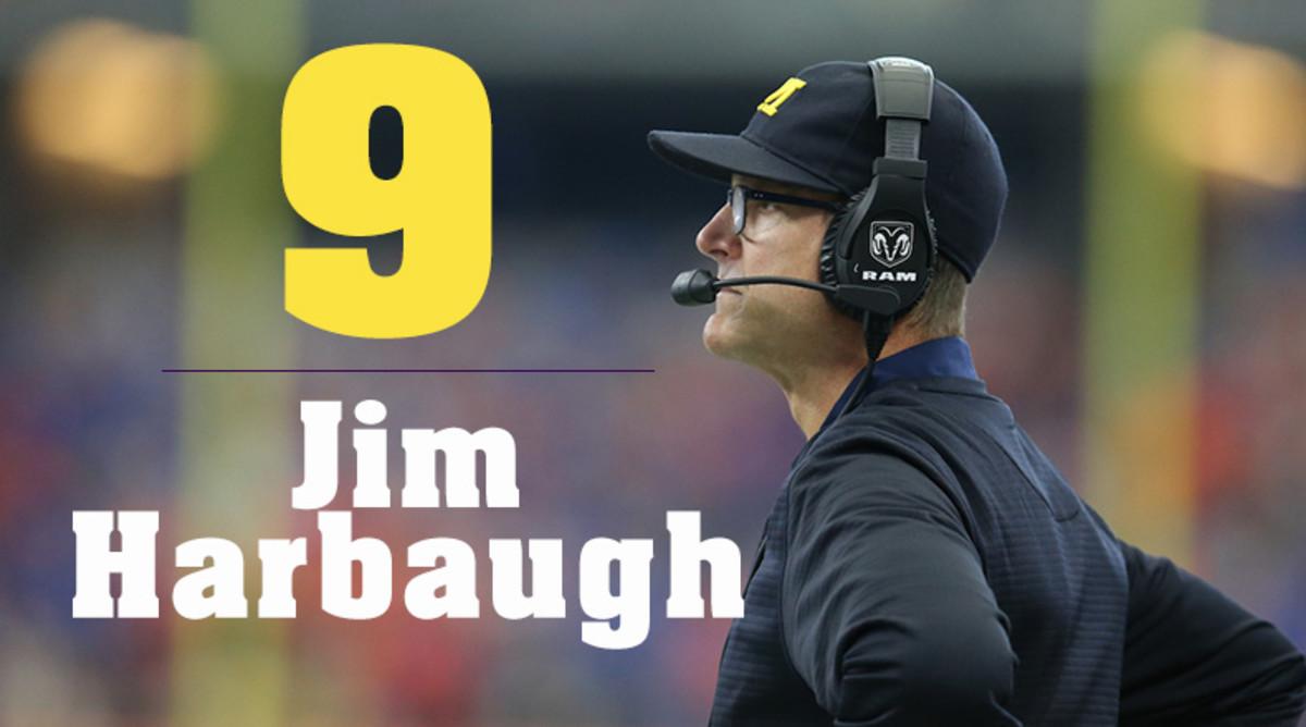Jim Harbaugh Coach