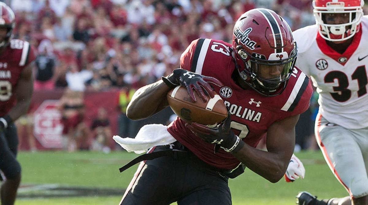 Shi Smith Emerging as Big-Play Threat for South Carolina