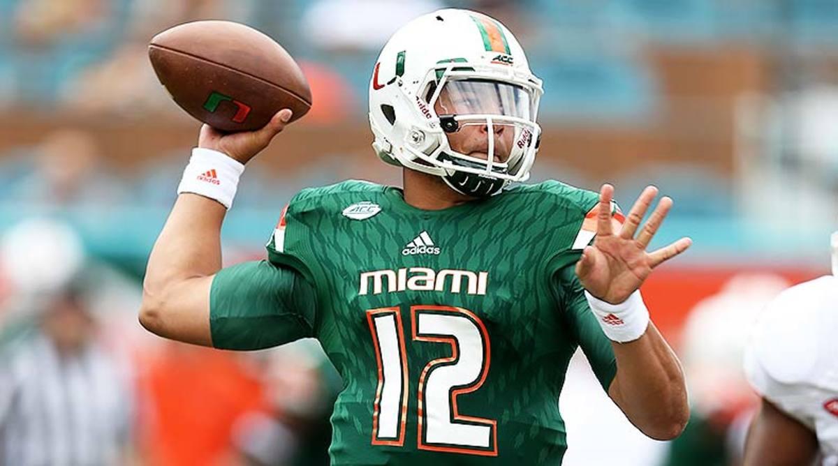 Miami Hurricanes vs. Boston College Eagles Prediction and Preview: Malik Rosier