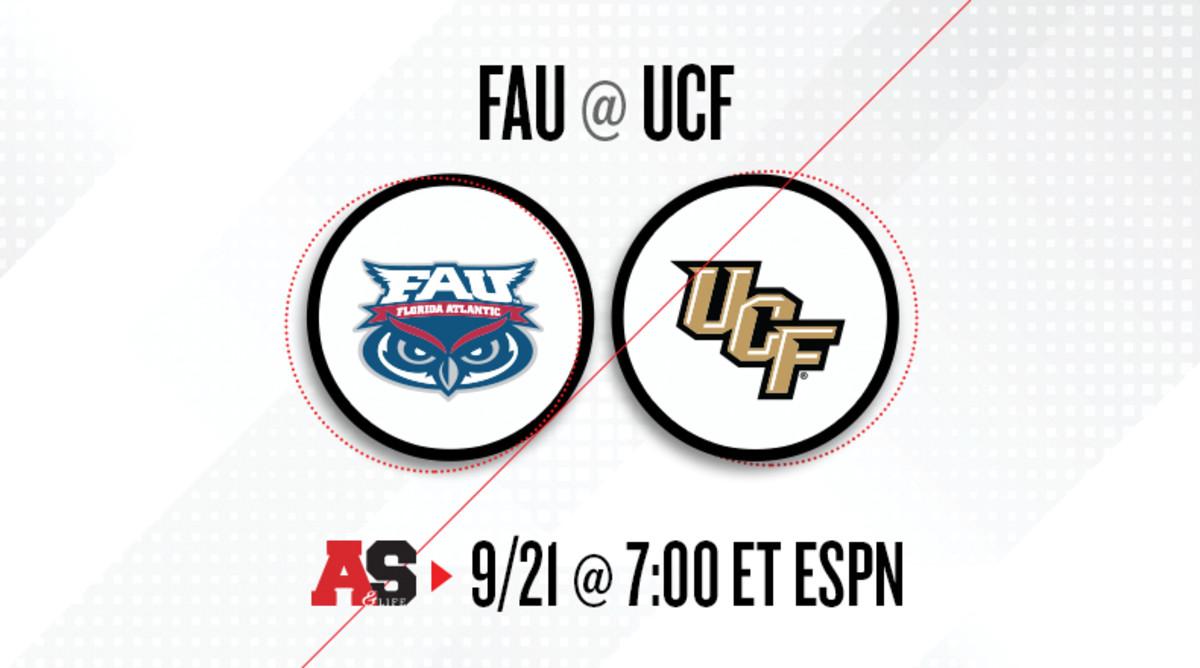 Florida Atlantic Owls vs. UCF Knights Prediction and Preview