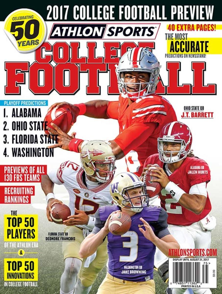 Eastern Michigan Eagles/National College Football Magazine