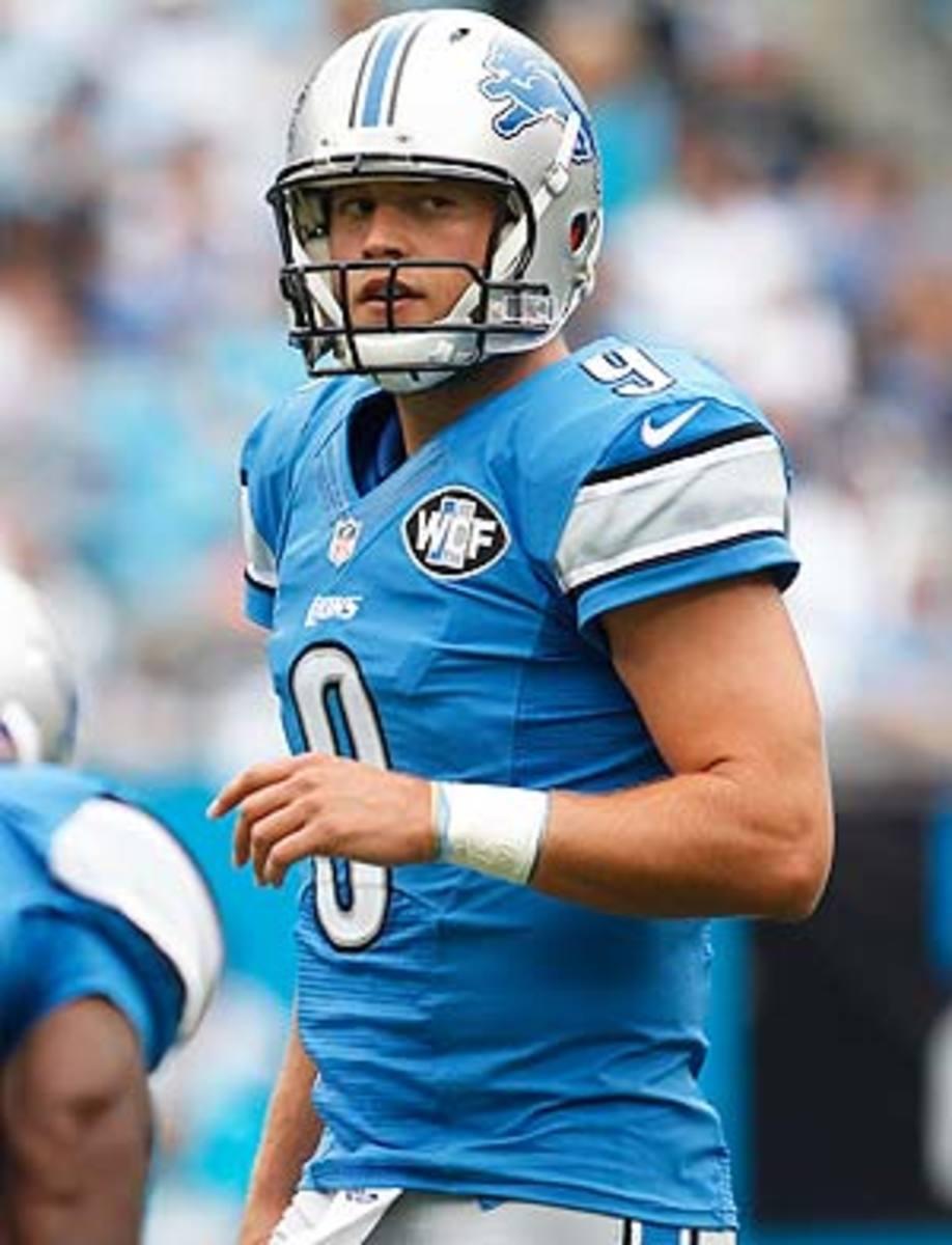 Matthew Stafford: Quarterback Rankings Week 6