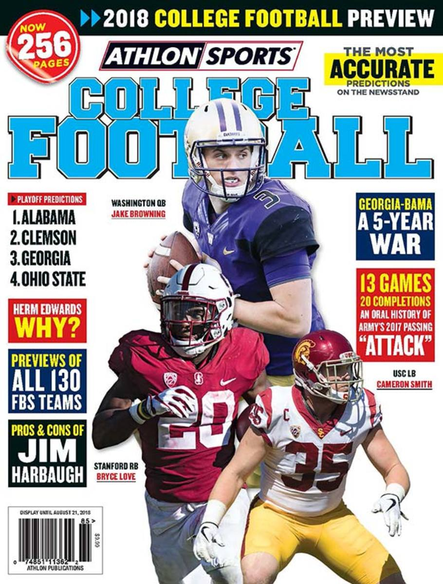 Boise State Football/2018 Athlon Sports College Football Preview Magazine