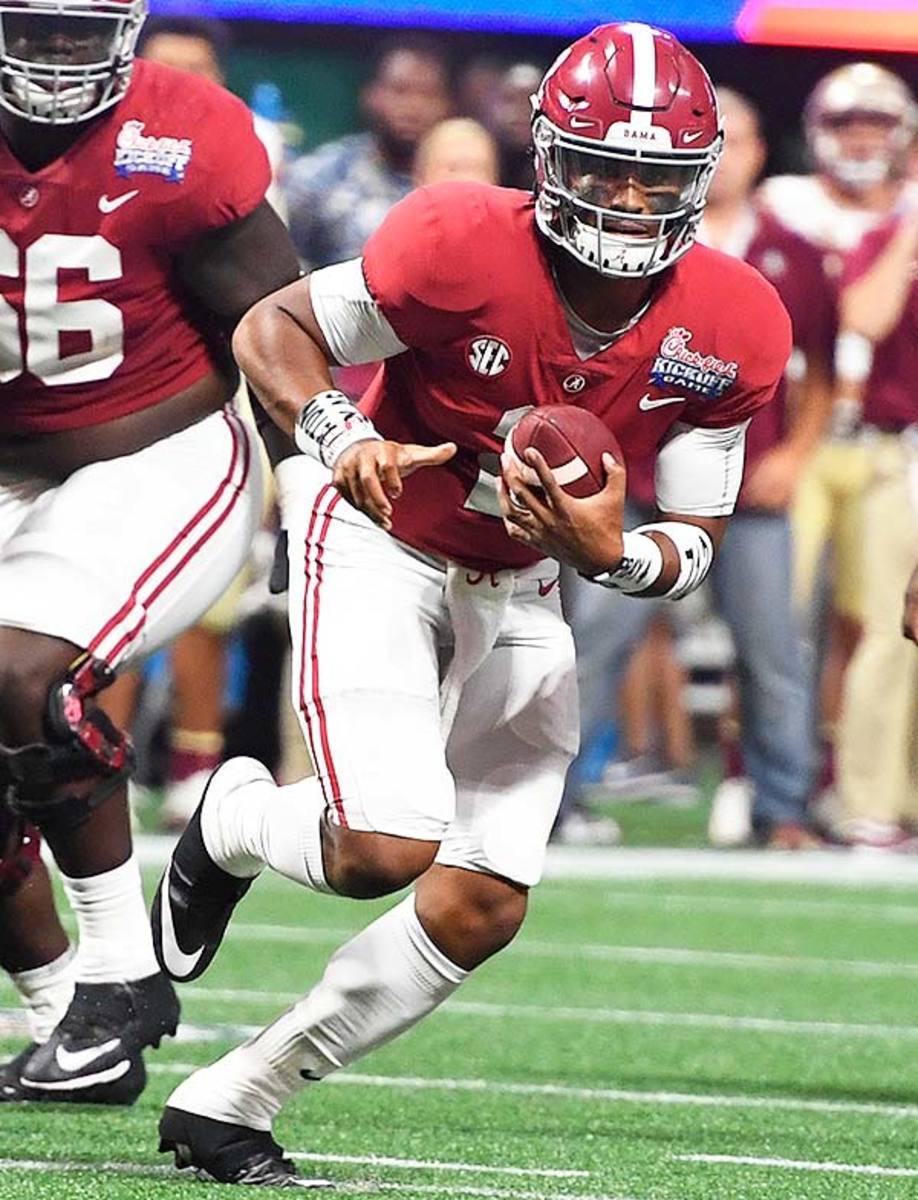 Alabama Crimson Tide QB Jalen Hurts
