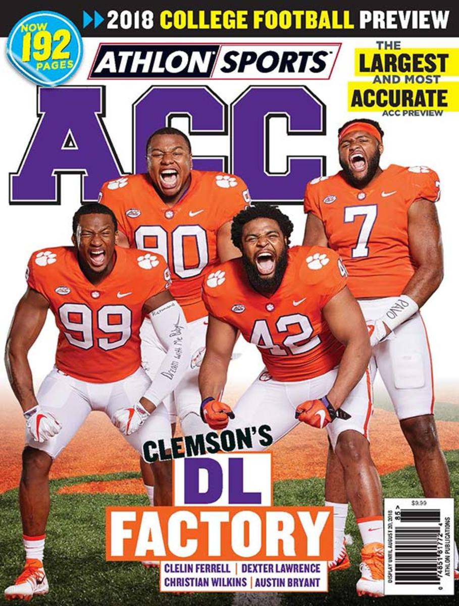 Clemson Football/ACC Magazine