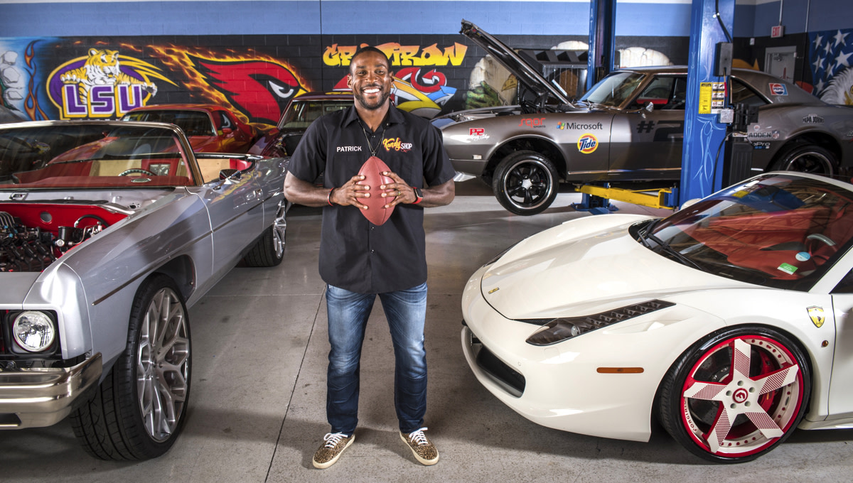 Patrick Peterson and his cars