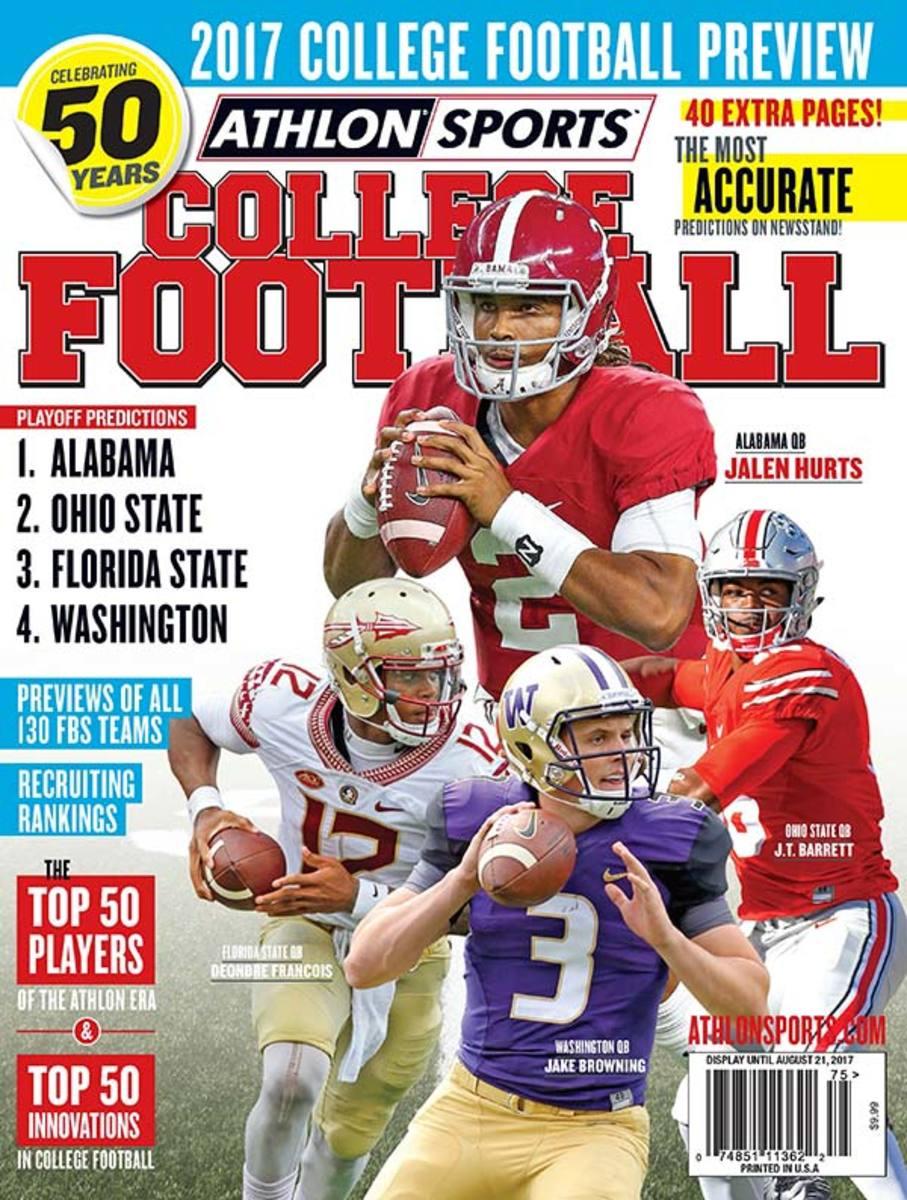Louisiana Football/National College Football Magazine