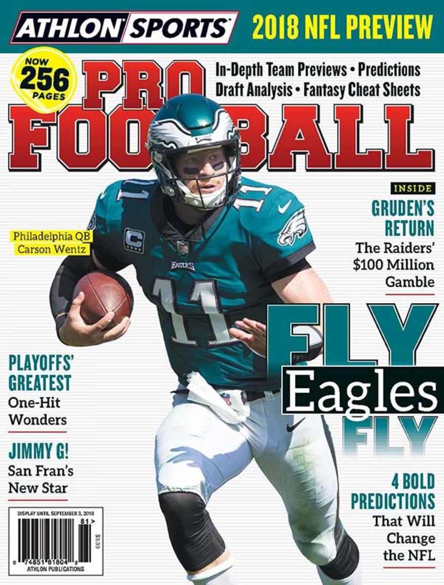 2018 Athlon Sports Pro Football Magazine