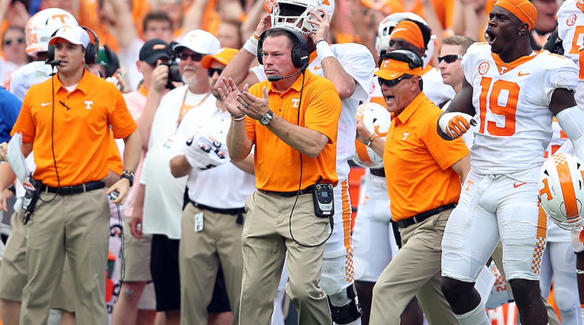 Butch Jones, Tennessee Volunteers Football