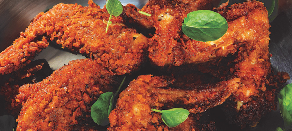 Nashville-Style Hot Chicken Wings recipe