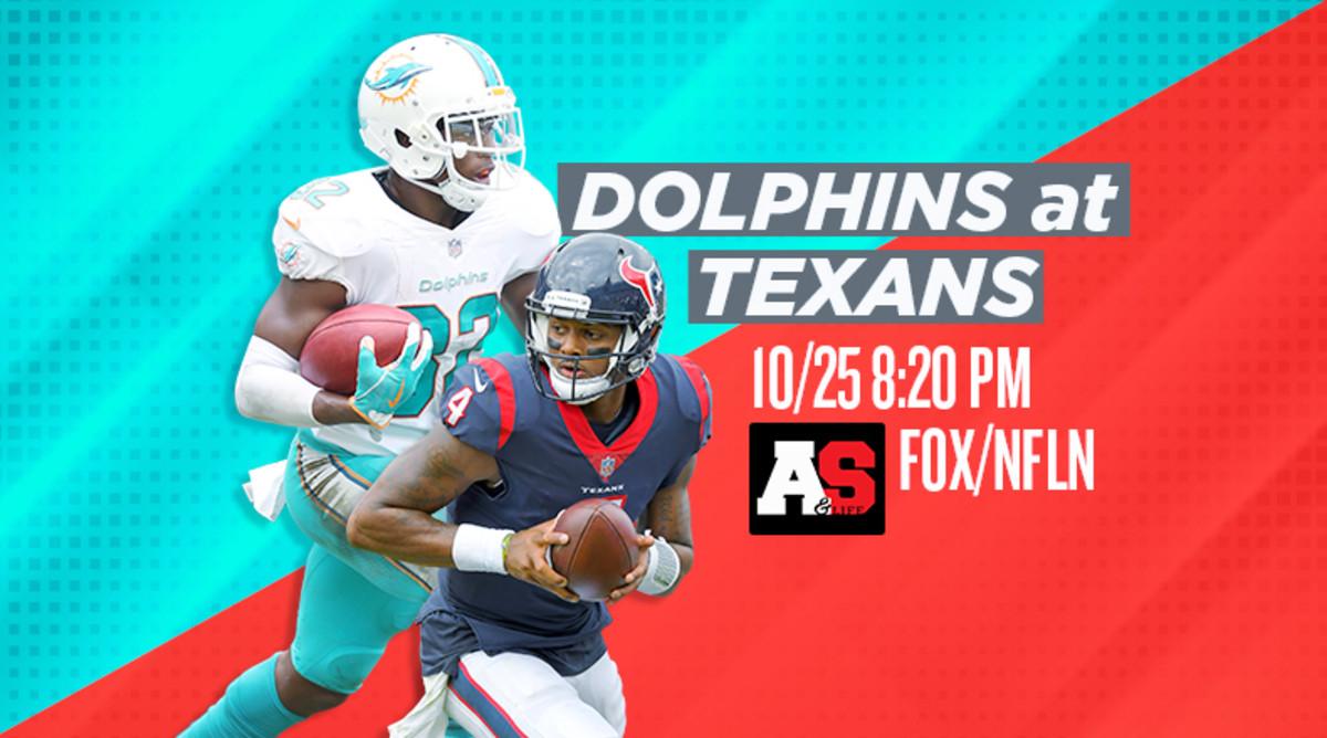 Thursday Night Football: Miami Dolphins vs. Houston Texans Prediction and Preview