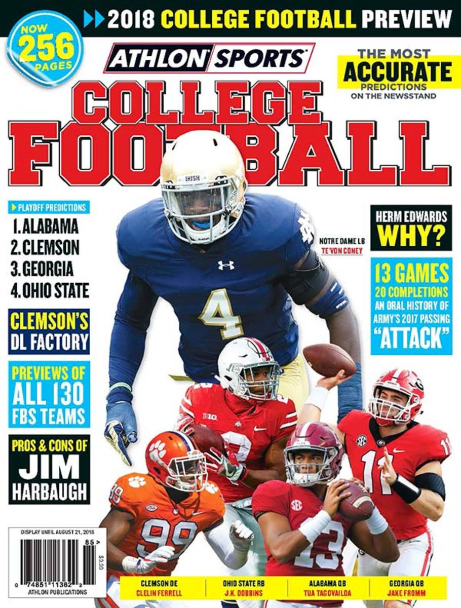 UConn Football/Athlon Sports 2018 College Football Preview
