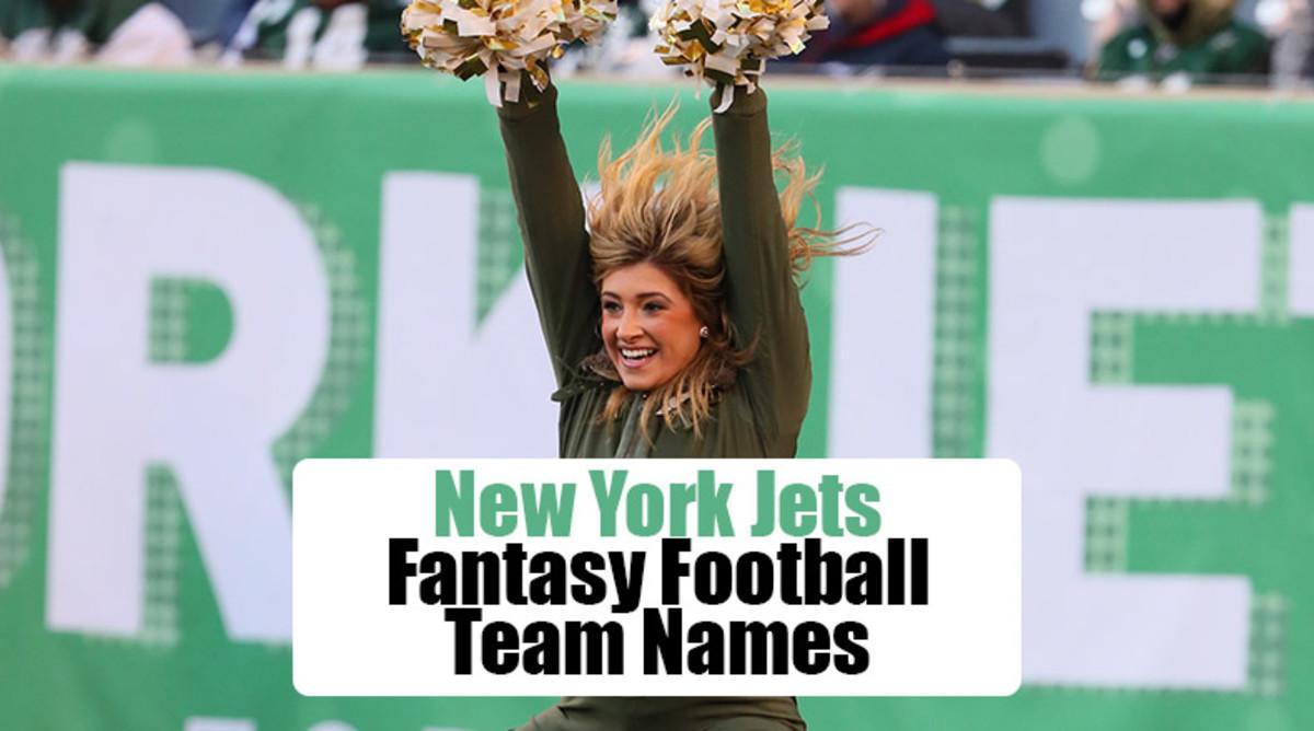 New York Jets Fantasy Football Team Names