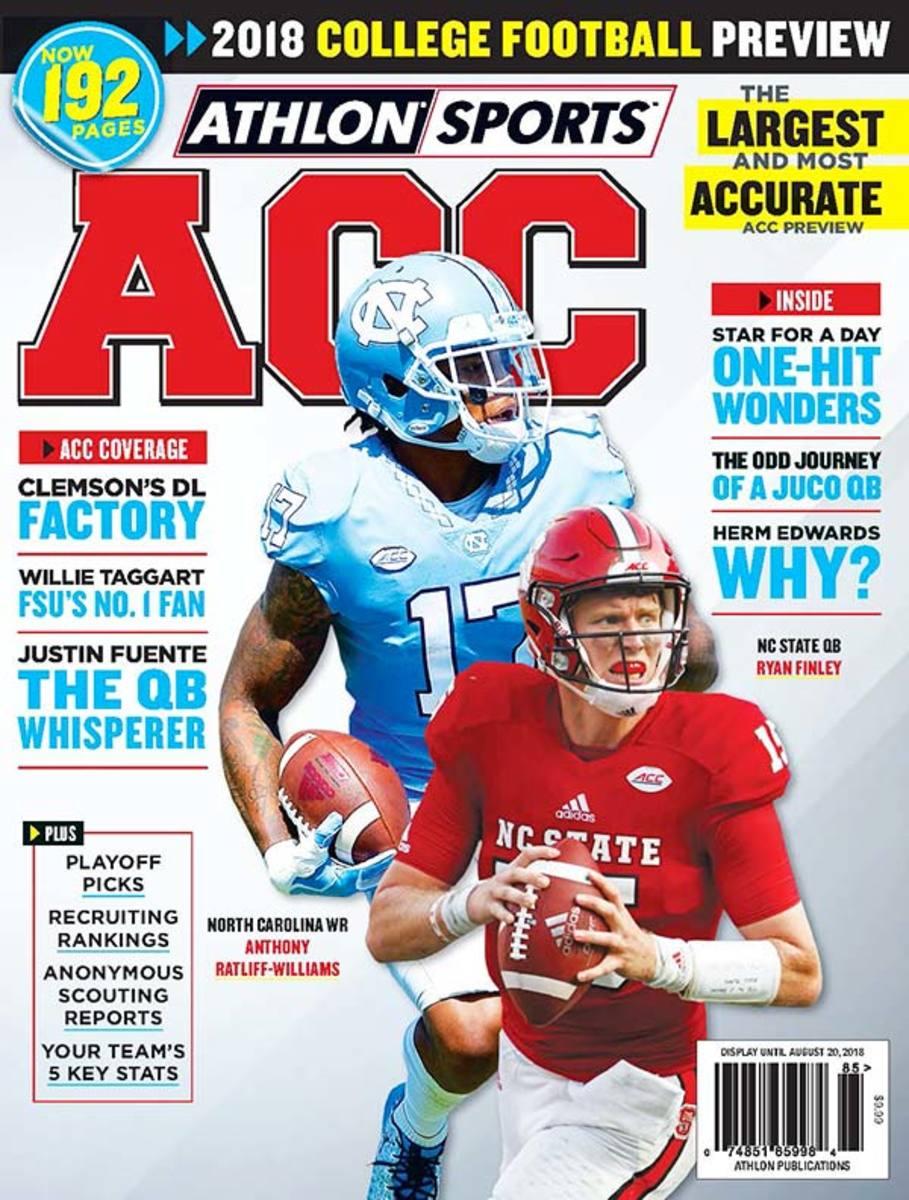 North Carolina Football/ACC Magazine