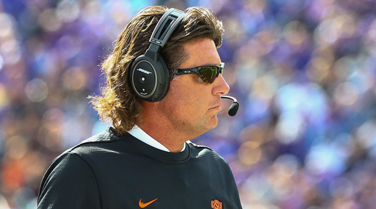 College football podcast: Mike Gundy