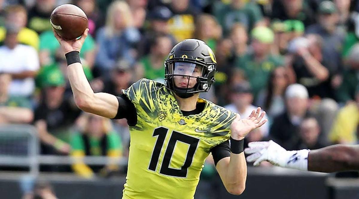 Justin Herbert, Oregon Football