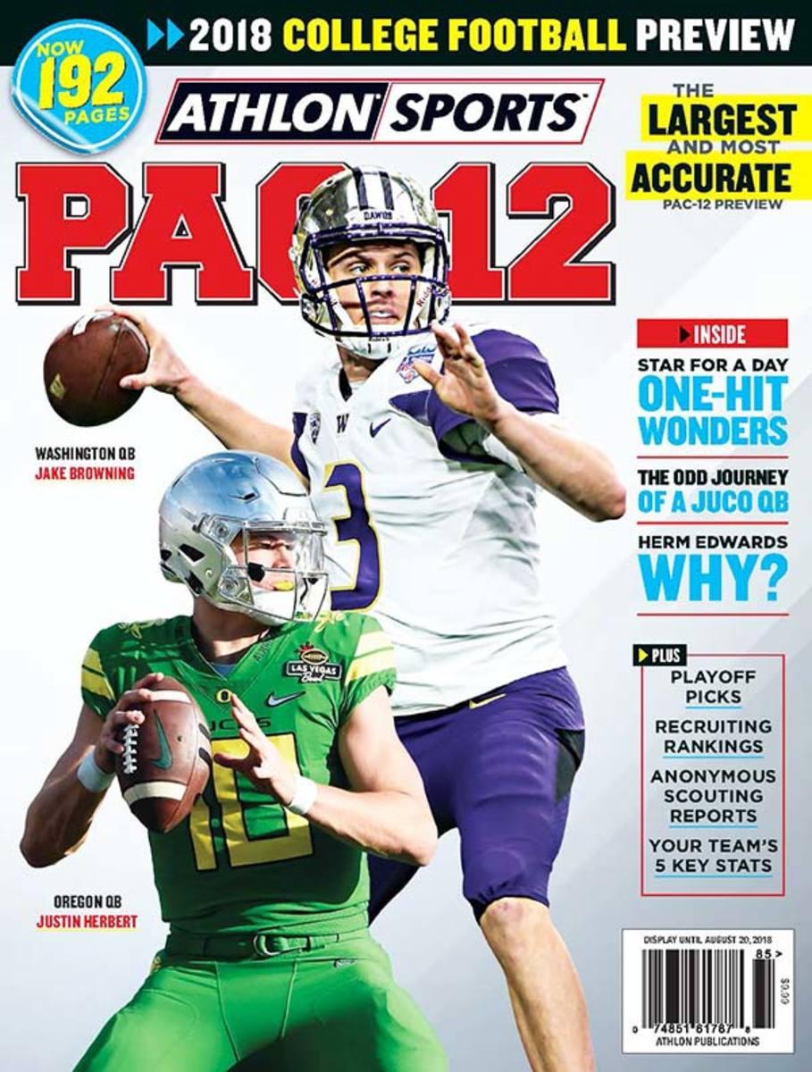 Oregon State Football/Pac-12 Magazine
