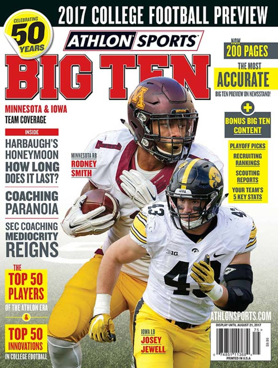 Minnesota Football/Big Ten Magazine