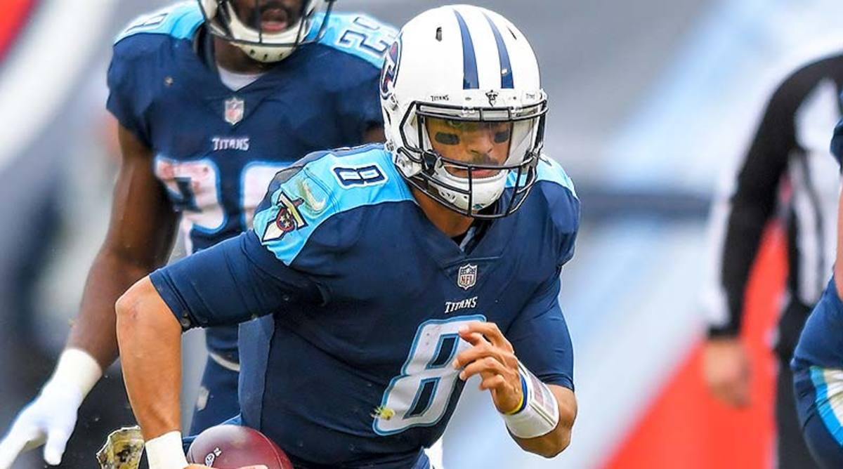 NFL Injury Report: Marcus Mariota