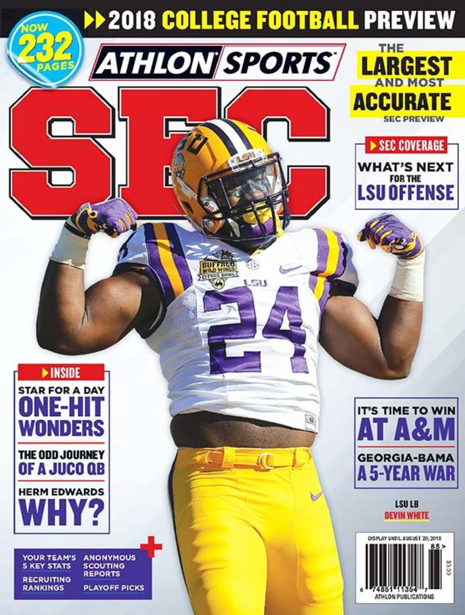 LSU Football/SEC Magazine