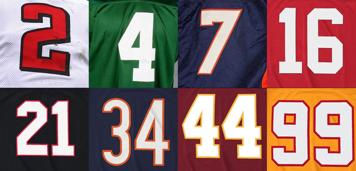 Greatest NFL Players at Every Jersey Number, 00 to 99