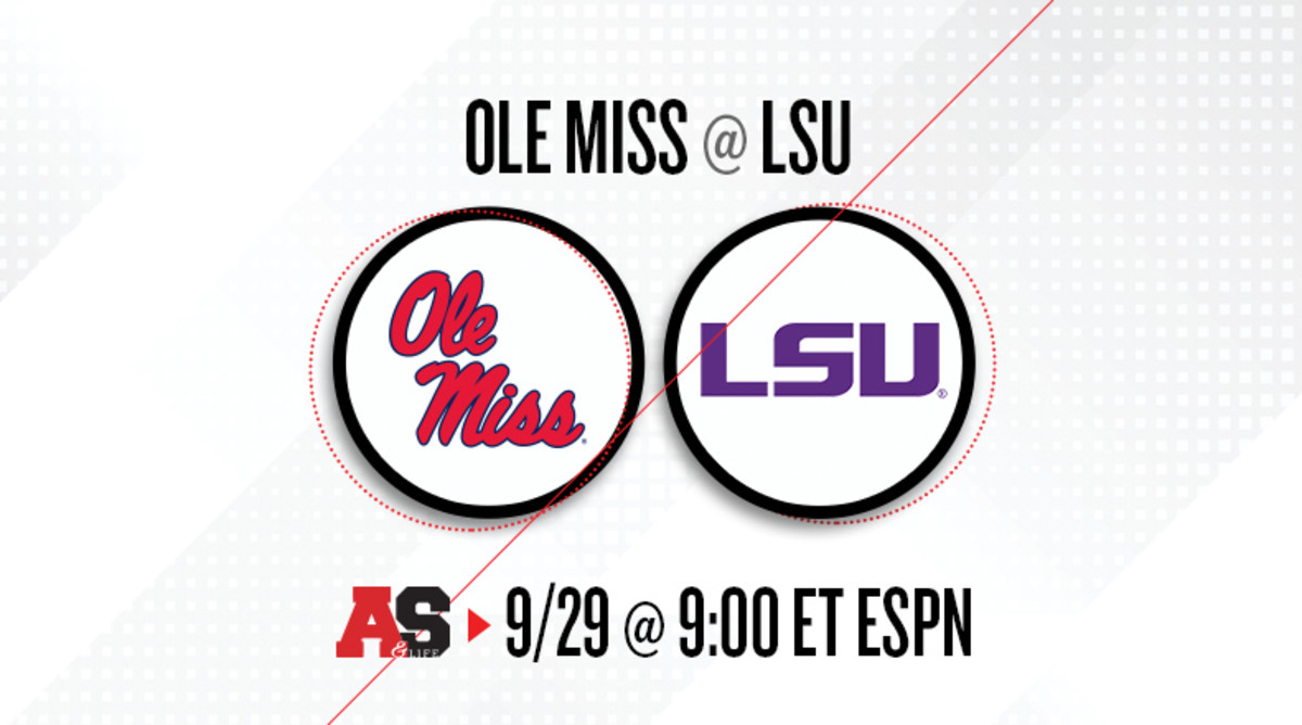 Ole Miss Rebels vs. LSU Tigers Prediction and Preview