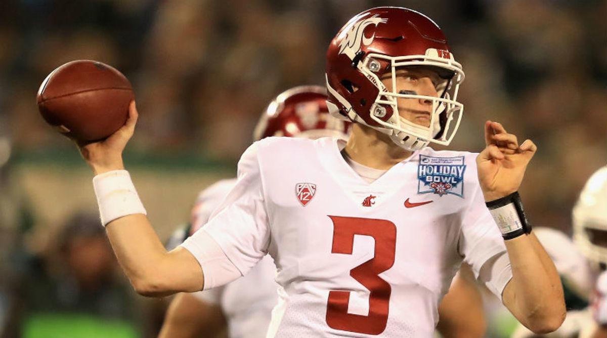 Washington State backup quarterback Tyler Hilinski