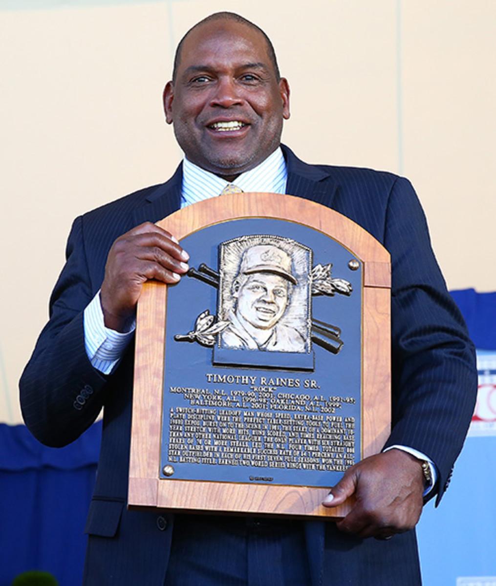 Tim Raines Baseball Hall of Fame