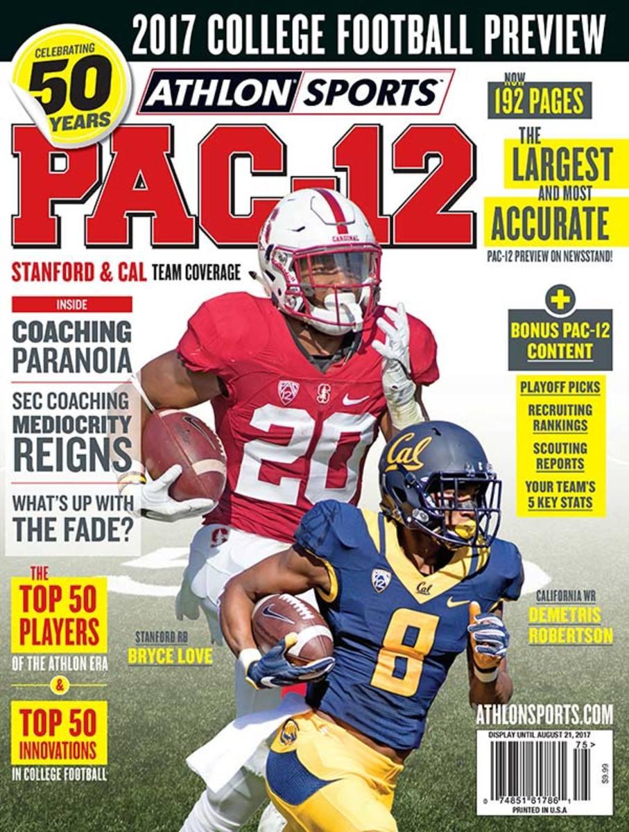 California Football/Pac-12 Magazine