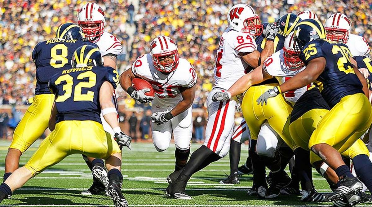 5 Greatest Michigan vs. Wisconsin College Football Games of All Time