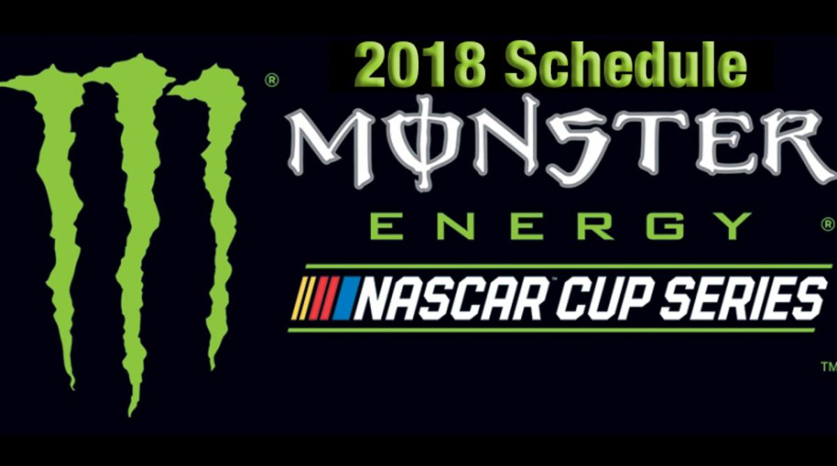 2018 NASCAR Schedule