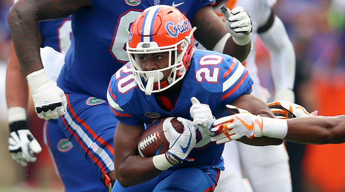 Malik Davis, Florida Gators Football