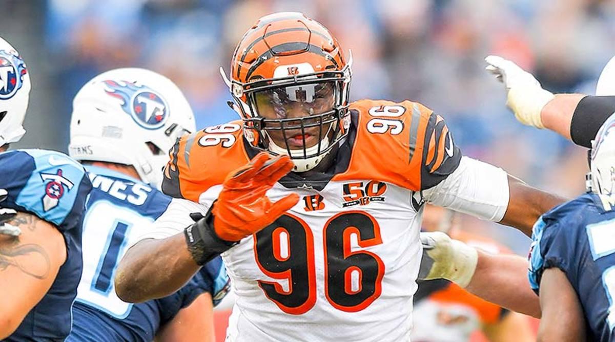Carlos Dunlap/Cincinnati Bengals: Defense/Special Teams Rankings Week 12