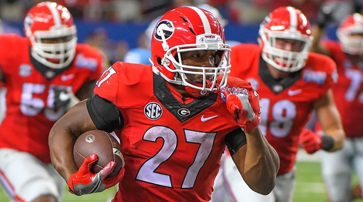 Nick Chubb Georgia Bulldogs