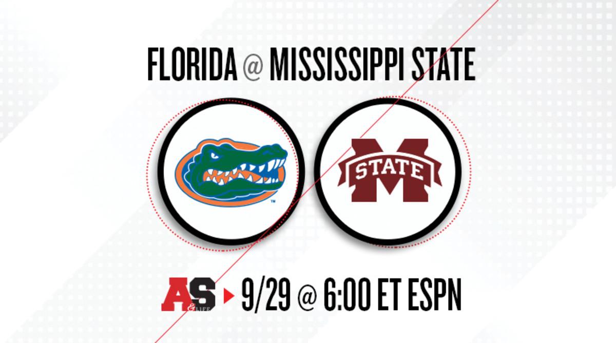 Florida Gators vs. Mississippi State Bulldogs Prediction and Preview
