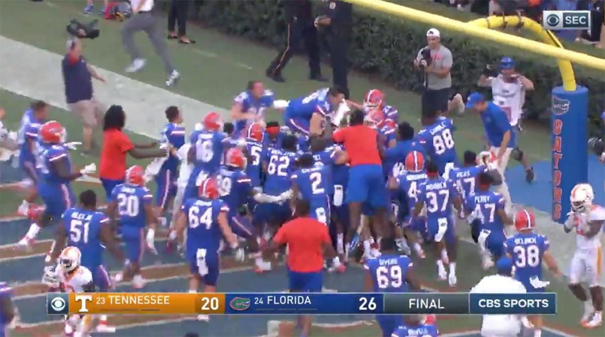 College football's craziest plays: Florida Hail Mary