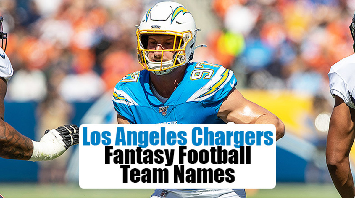 Los Angeles Chargers Fantasy Football Team Names