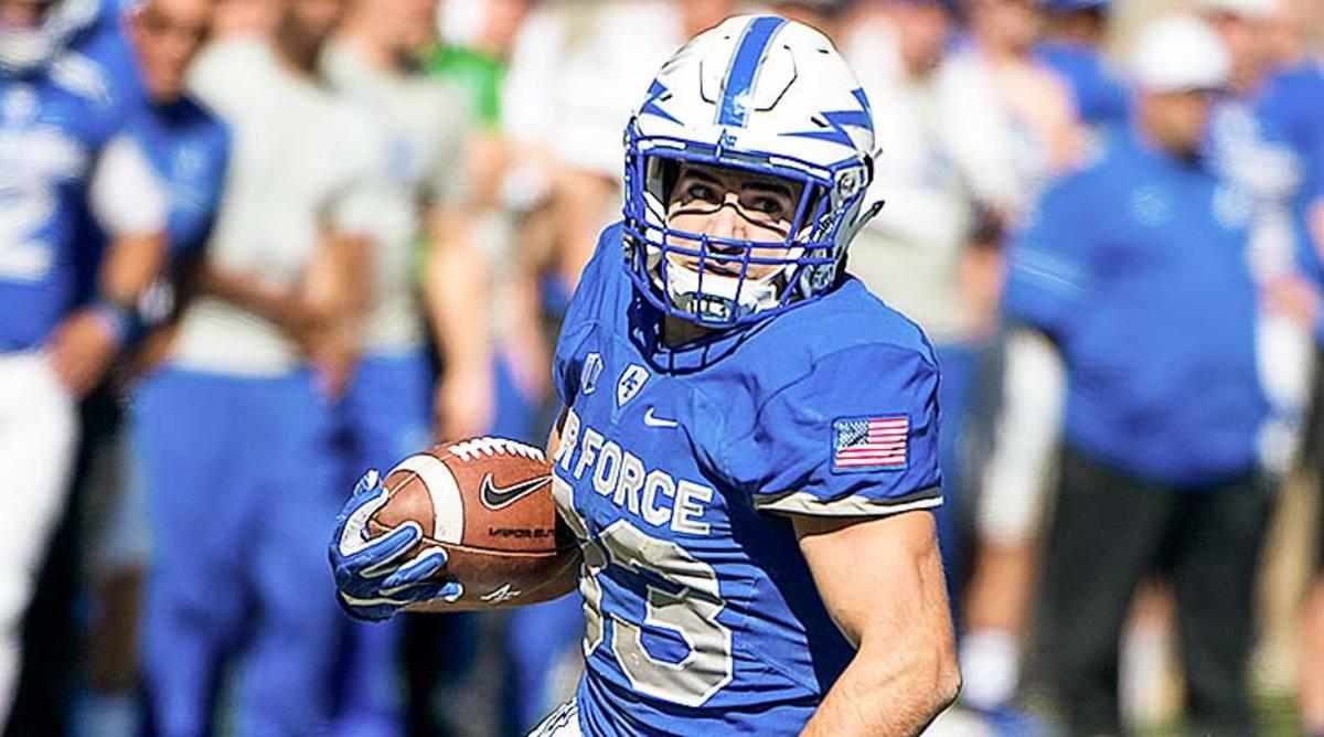 Tim McVey, Air Force Football